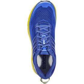Hoka One One Clifton 6 Chaussures de trail Homme, nebulas blue/lemon